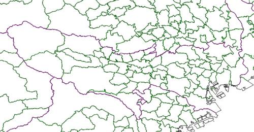 図1:国土地理院の基盤地図情報25000