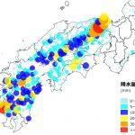 図1. 西日本豪雨の例